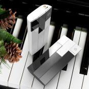 Piano 15000mah power bank with led lighting images