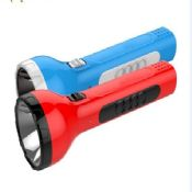 Plastic rechargeable led flashlight images
