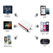 Portable Mini 4000mah power bank charger with led consumer electronics images