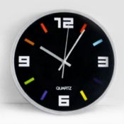 Promotional wall clock images