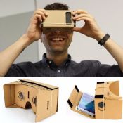 Sexy film cardboard VR Glass images