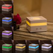 Square Shape 5V 120ML Fragrance Electric Diffuser With Mood Light images
