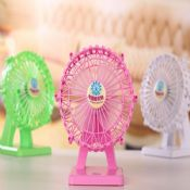Table chargeable fan images