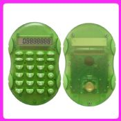 Transparent 8-digit electronic calculator images
