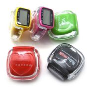 Transparent acrylic multifunctional pedometer images