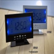 TV shape clock images