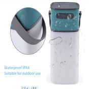 Waterproof Bluetooth Speaker with led latern images