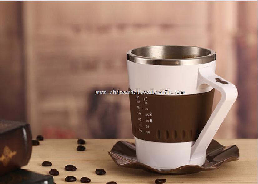 Újdonság led villogó kávé bögre