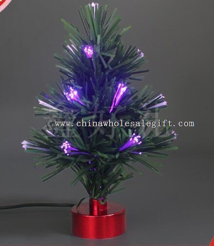 USB LED mini plastic Car Fiber Christmas tree
