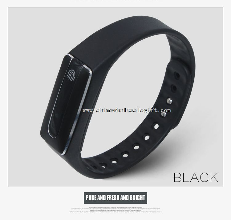 bluetooth wristband activity tracker with pedometer
