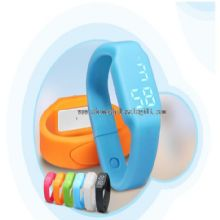 electronic bracelet 3d pedometer watch with LED light images