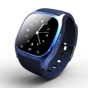 bluetooth smartwatch with SMS phone call sync pedometer images