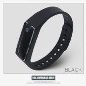 bluetooth wristband activity tracker with pedometer images