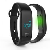 smart bracelet with bluetooth and heart rate monitor images