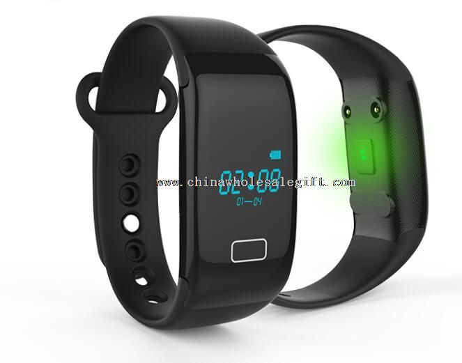 smart bracelet with bluetooth and heart rate monitor