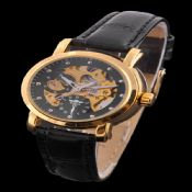 Mechanical Roman Design Steel watches images