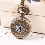 Pocket Watch with Metal Chain images
