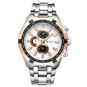 Stainless Steel Luxury Men Quartz Watch images