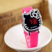 Hello Kitty Cartoon LED Watches images
