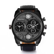 Large Men Dual time Watch images