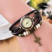 Leather Strap Dress Watch images