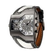 Men Military Watches With Leather Band images