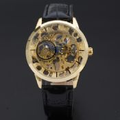 Rome digital hollow hand winder watches for men images