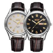 genuine leather watches for men images