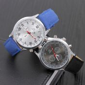 Jean leather strap alloy watch images