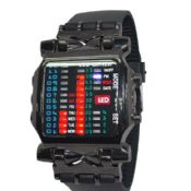 silicone sport LED watch images