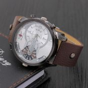 Leather Mechanical Watch for man images
