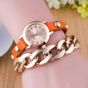 leather strap bracelet watch images