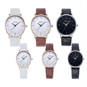 Luxury women leather watch images