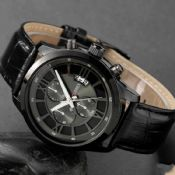 Luxury genuine leather stra Watches images