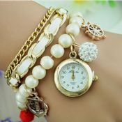 Pearl Anchor Pendant Women Luxury watch images