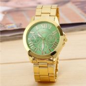 Stainless Steel Band Quartz Wrist Watch images