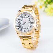 Stainless Steel Gold Watch For Men images