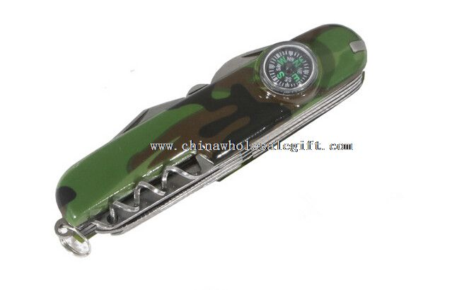 emergency switch multi-function knife with compass