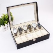 12 slots fashion poket watch display case images