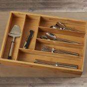 bamboo silverware trays images