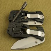 Multi-functional survival rescue knife images