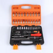 46pcs Mechanic Tool Box Set images