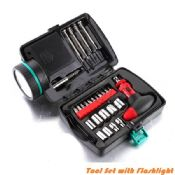 26 Pcs Portable Flashlight Tool Box Set images