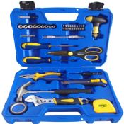 33pcs multifunction travel hand tool kits images