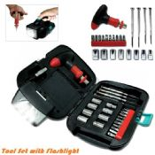Handheld Flashlight & Tool Box Kit images