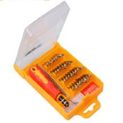 32 in 1 popular home tool set with Interchangeable magnetic head images