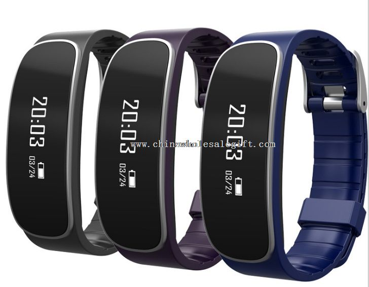 Touch Screen Wristband with Heart Rate Monitor Smart Bracelet Bands