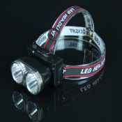 Headlamp with 2 Led Bulb 2 Color images