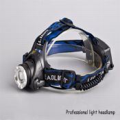 LED Headlamp Zoomable Fishing Lamp images