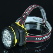 Super Power Long Distance Rechargeable LED Headlamp images
